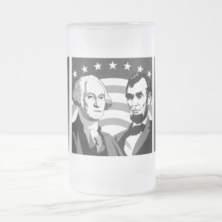 Our Presidents - Frosted Glass Mug