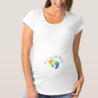 Our Rainbow After The Storm Maternity T-Shirt