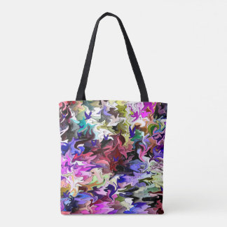 Our sad and chaotic world.... tote bag