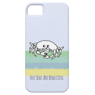 Our Seas Are Beautiful Conservation iPhone Case