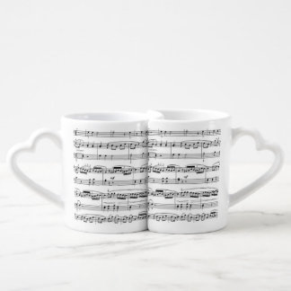 our song coffee mug set