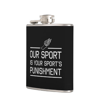 Our Sport is Your Sport's Punishment Hip Flask