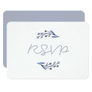 OUR STORY RSVP Design Card