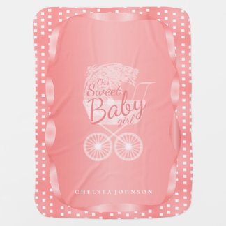 Our Sweet Baby Girl Swaddle Blankets