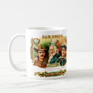 Our Union Vintage Cigar Box Label Mug