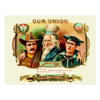 Our Union Vintage Cigar Box Label Post Cards