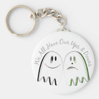 Our Ups & Downs Key Ring