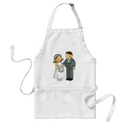 Our wedding apron