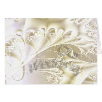 Our Wedding Card - Blank