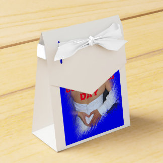 Our Wedding Day Tent Bag Favour Boxes