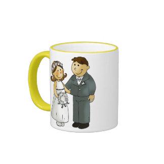 Our wedding ringer mug
