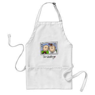 Our Wedding Photograph Tshirts and Gifts Aprons
