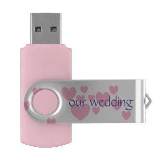 our wedding USB Flash Drive by DAL