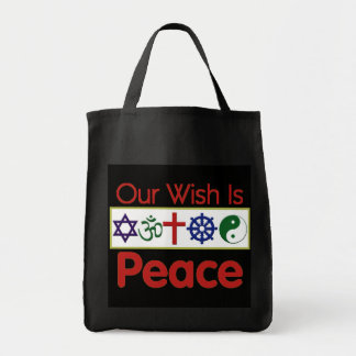 Our Wish Is PEACE Bag