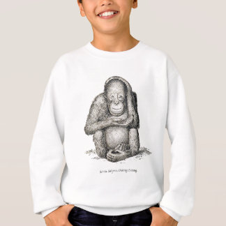 Ourang Outang, Victorian Antique Picture Sweatshirt