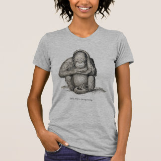 Ourang Outang, Victorian Antique Picture T-Shirt