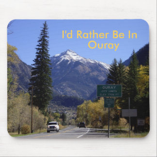 Ouray, Colorado Mouse Pad