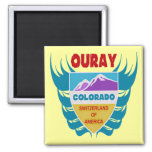 Ouray, Colorado Refrigerator Magnet