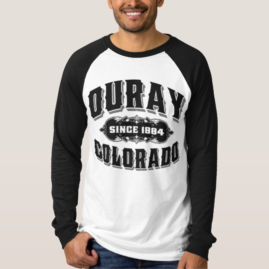 Ouray Old Style Black T-Shirt
