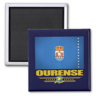 Ourense Square Magnet