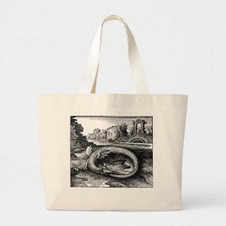 ouroboros dragon bags