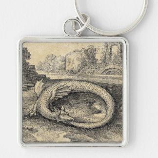 Ouroboros Dragon Symbol Key Chains