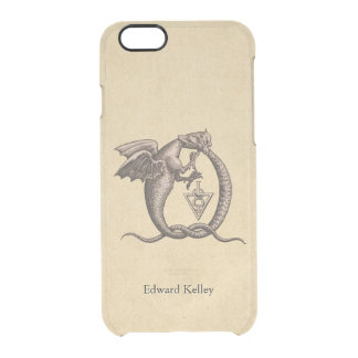 Ouroboros Dragons Sulphur and Mercury Clear iPhone 6/6S Case