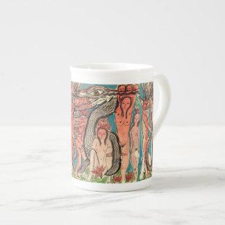 Ourobouric Echoes Tea Cup
