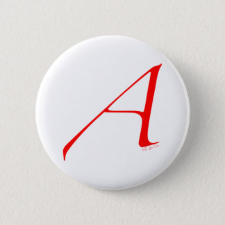 Out and Proud Atheist 6 Cm Round Badge
