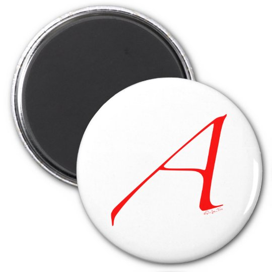 Out and Proud Atheist 6 Cm Round Magnet