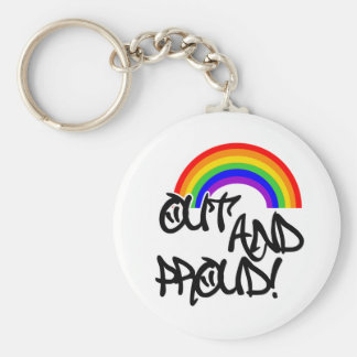 Out and Proud Key Ring