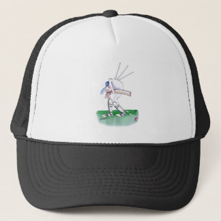 out for nought - cricket, tony fernandes trucker hat