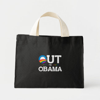Out for Obama Mini Tote Bag