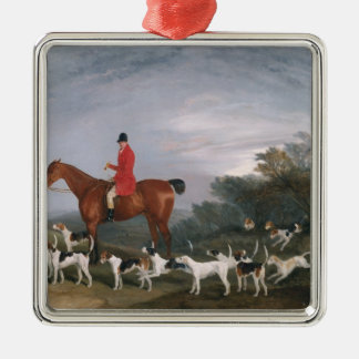 Out Hunting, 1841 Christmas Ornament
