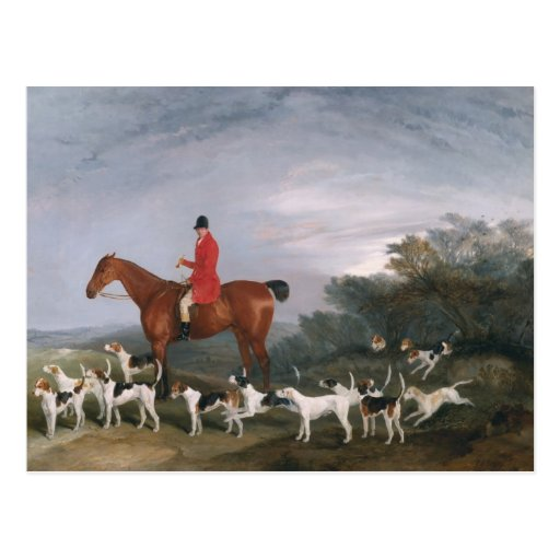 Out Hunting, 1841 Post Cards