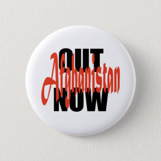 Out of Afghanistan 6 Cm Round Badge