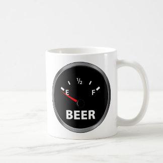 Out of Beer Fuel Gauge Coffee Mug