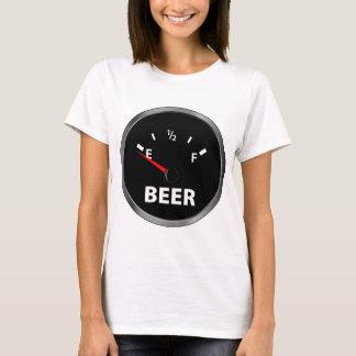 Out of Beer Fuel Gauge T-Shirt