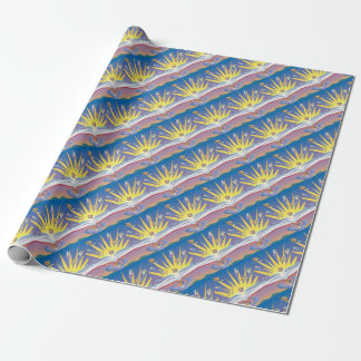 Out of Books Wrapping Paper