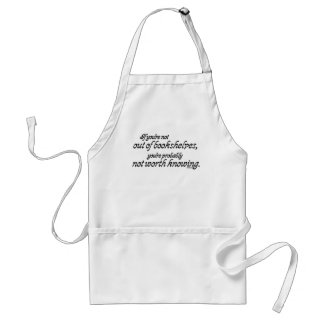 Out of Bookshelves Standard Apron