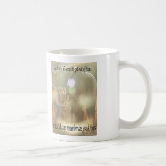 Out of Focus: Cowgirl and Buckskin Basic White Mug