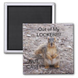 OUT OF LOCKER SQUIRREL MAGNET
