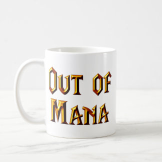 Out of Mana Coffee Mug