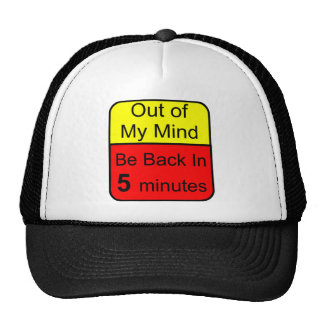 Out of My Mind Hats