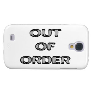 Out Of Order Galaxy S4 Case