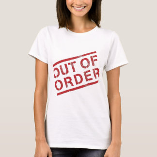 Out of Order Tee