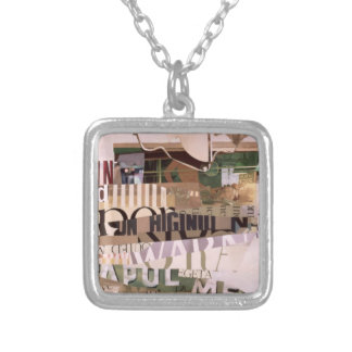 Out of Season Silver Plated Necklace