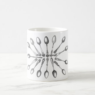 Out of Spoons Coffee Mug