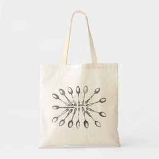 Out of Spoons Tote Bag