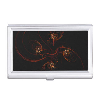 Out of the Dark Abstract Art Business Card Holder